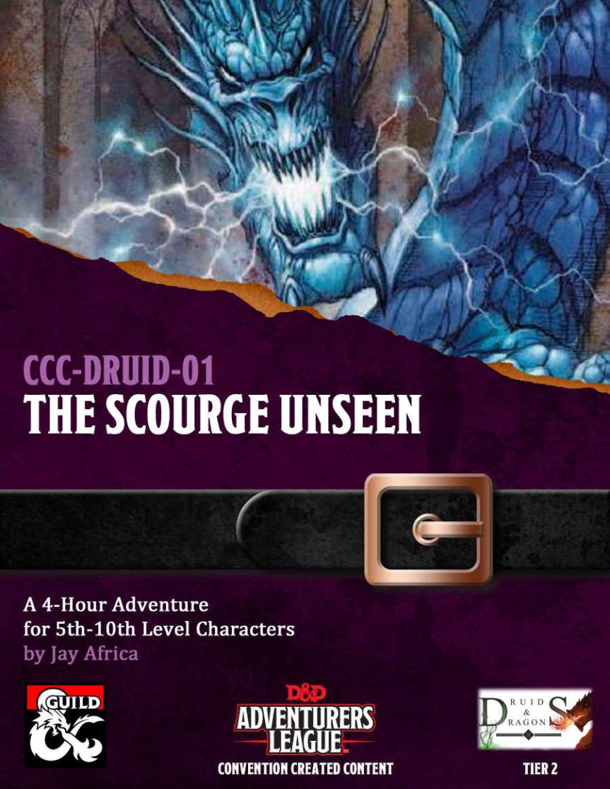 Review: CCC-DRUID-01 The Scourge Unseen