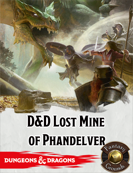 Review: Lost Mine of Phandelver on Fantasy Grounds Classic